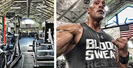 برنامه تمرینی دواین جانسون (راک) برای داشتن عضلات پر قدرت
